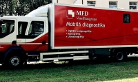 Mobile diagnostics trips to regions of Latvia in March