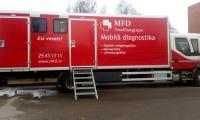 MFD Veselības grupa atklāj jaunu Mobilās diagnostikas vienību