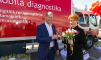 Was held MFD Mobile diagnostics new unit's opening ceremony