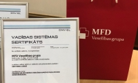MFD Healthcare group received ISO quality certificate