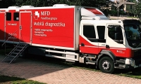 Mobile diagnostics trips to regions of Latvia on June
